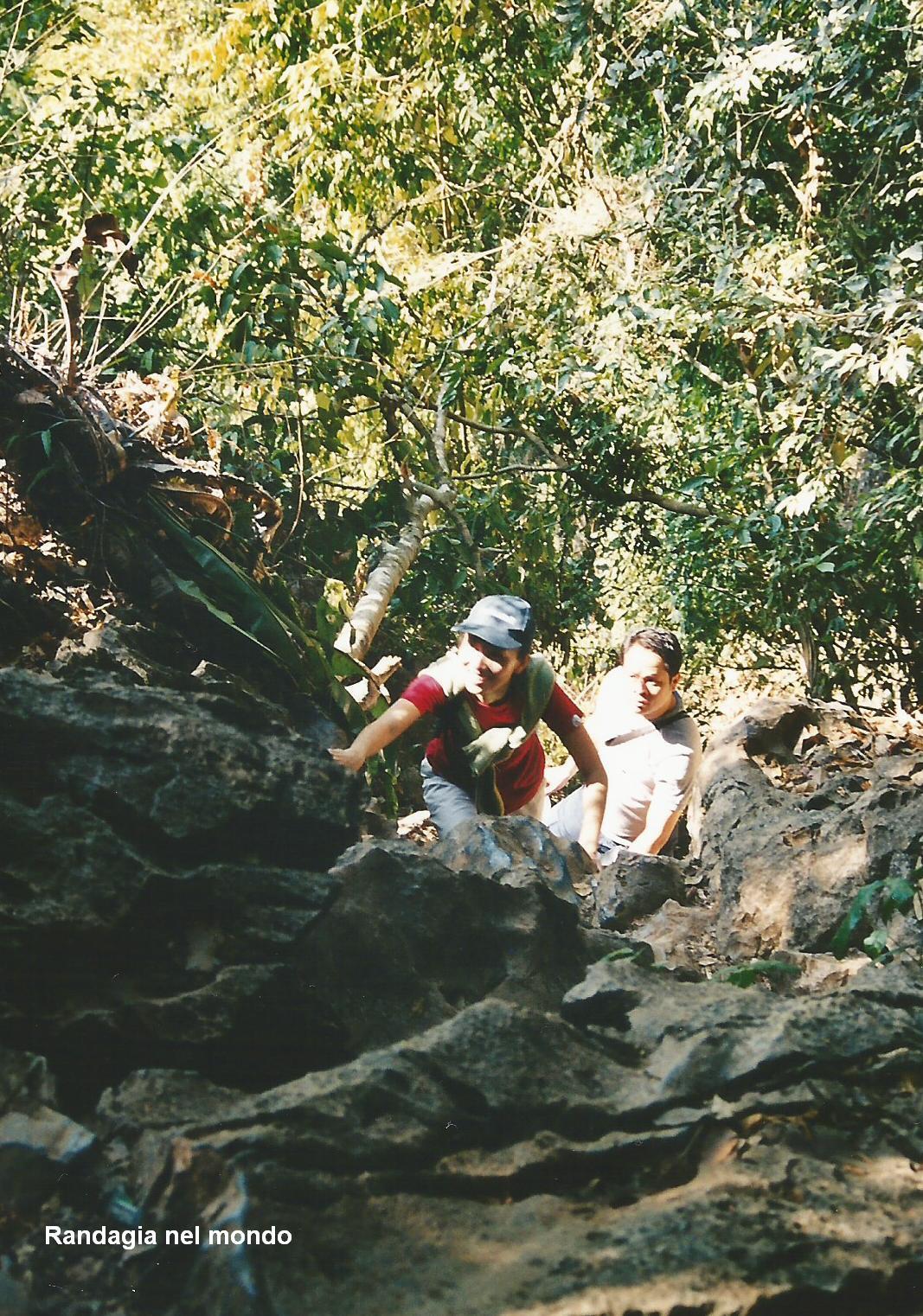 arrampicata grotte
