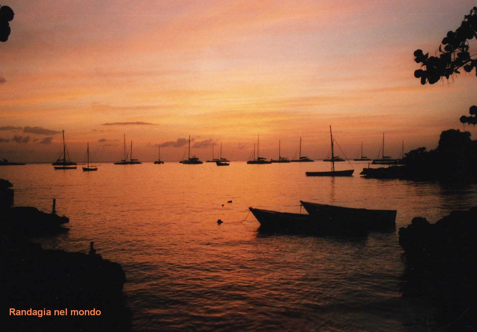 bayahibe, sunset