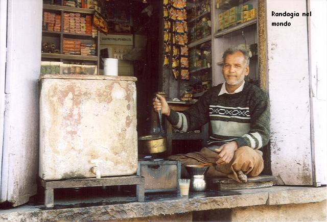 bundi, tea vendor