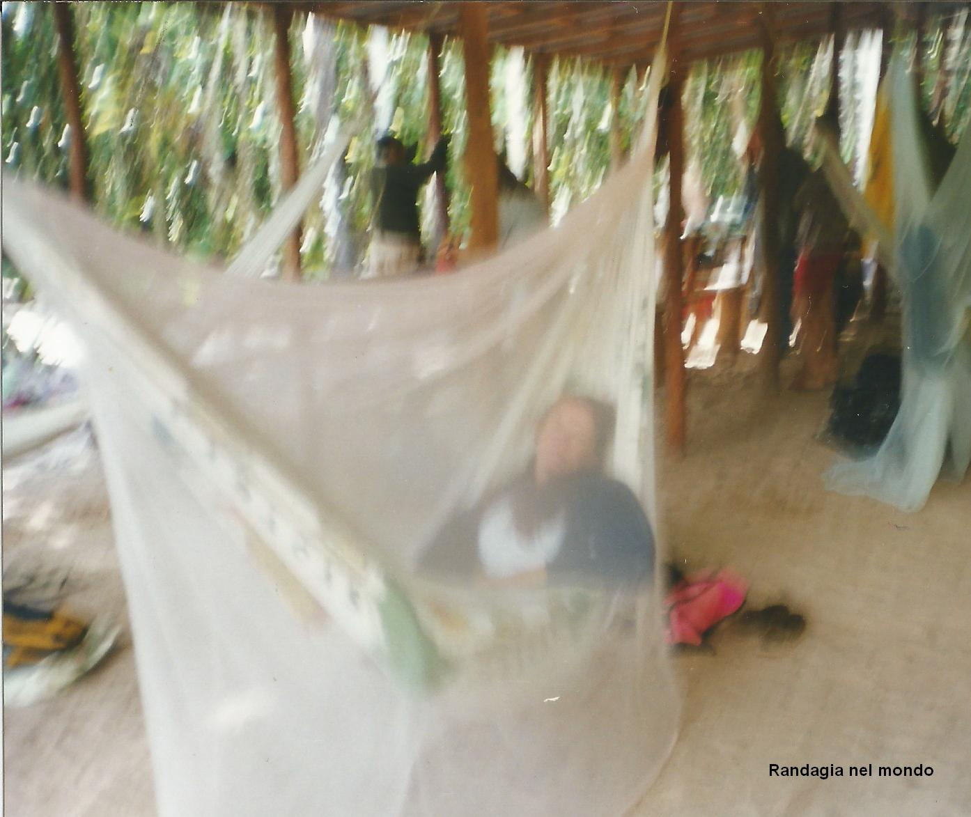 L'accampamento dove ho dormito 2 notti