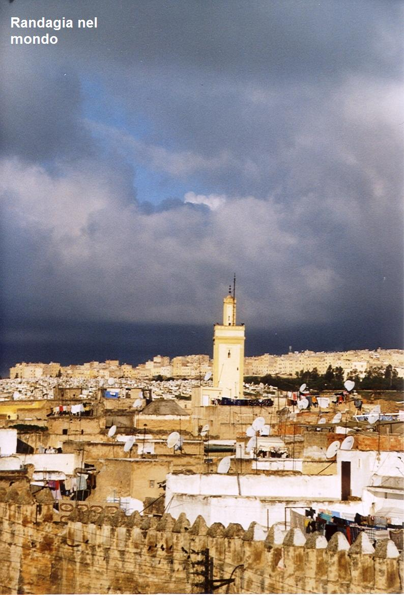 fes, view from my guesthouse