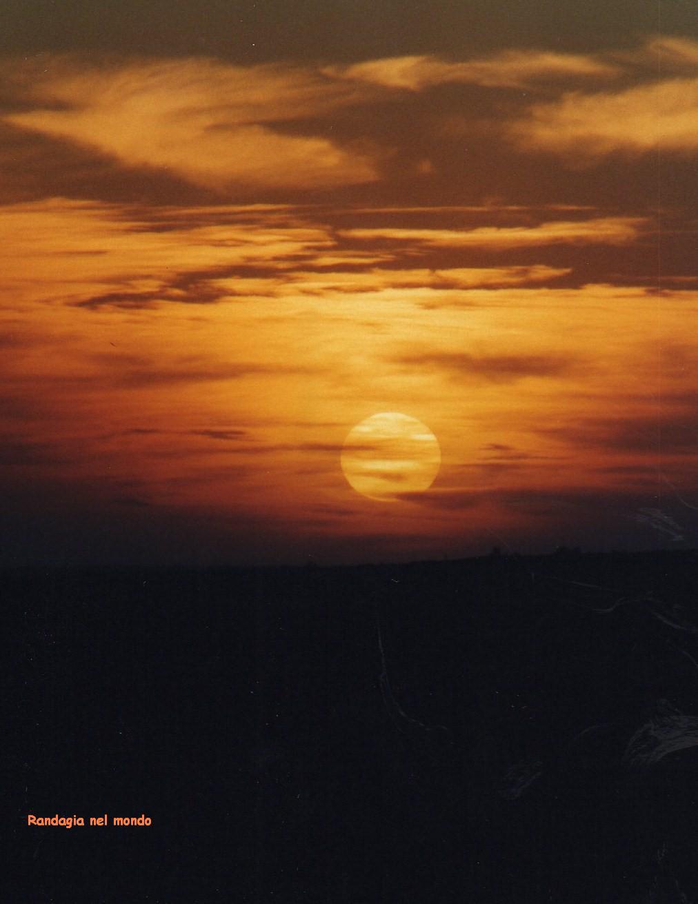 jaisalmer, desert sunset