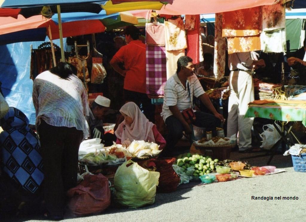 kota baru, market