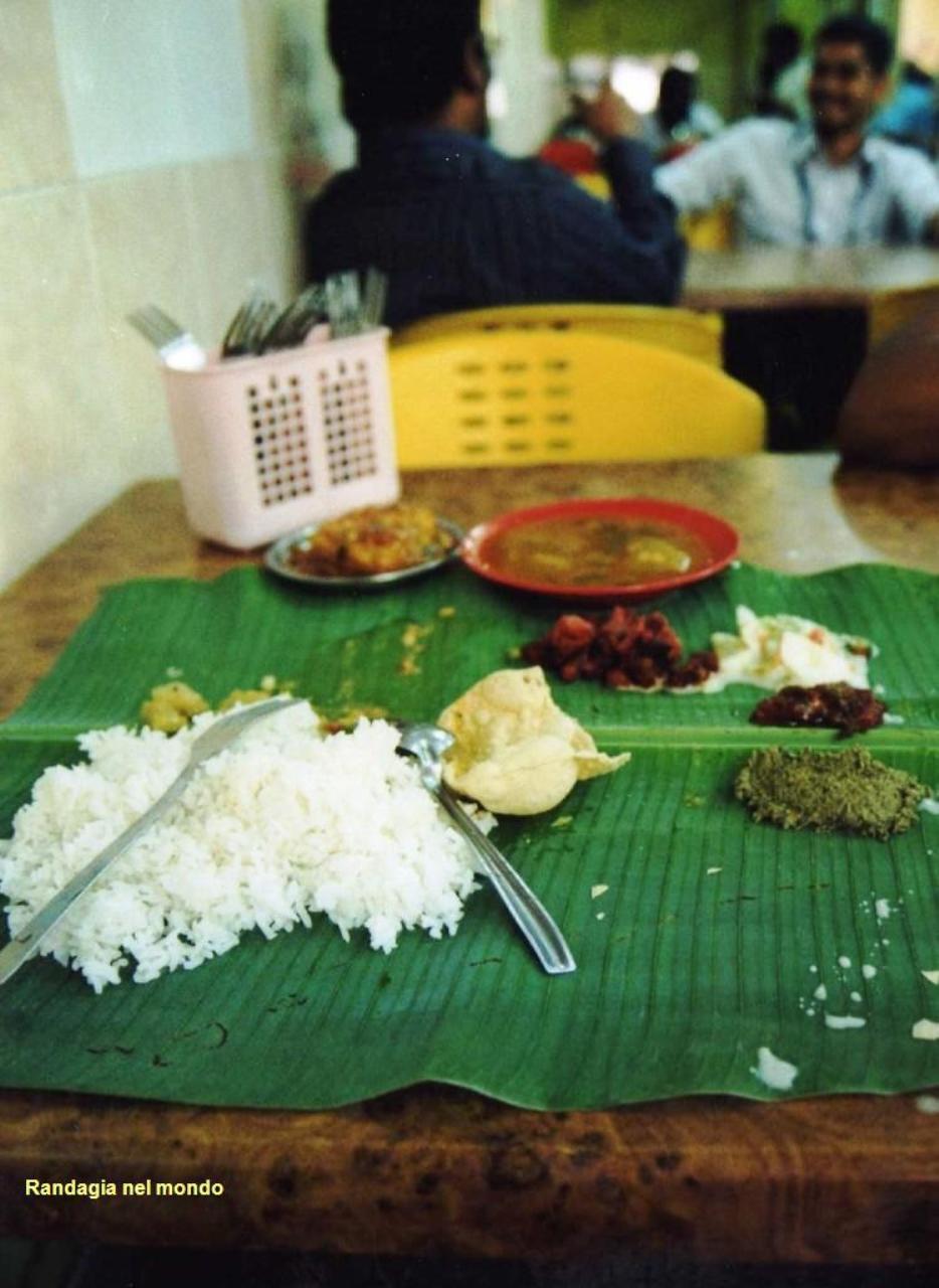 kuala lumpur, my Indian lunch