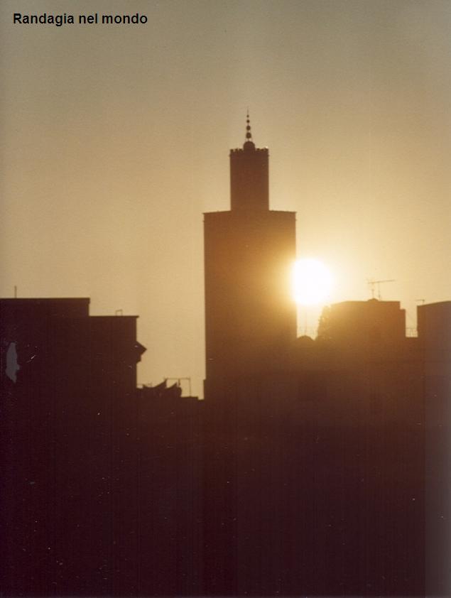 meknes, sunset