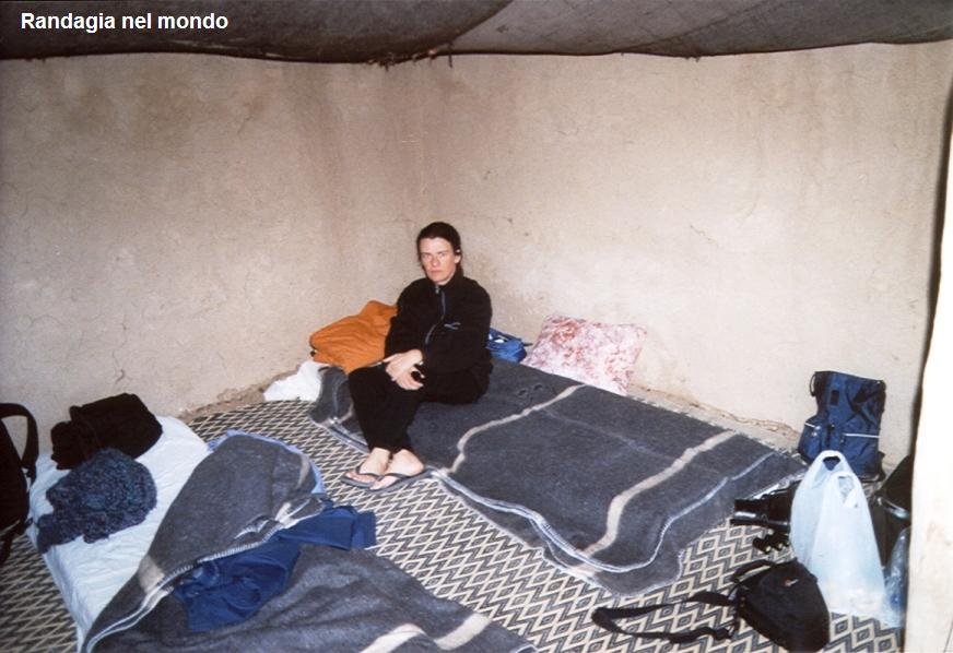merzouga, inside the tent at night
