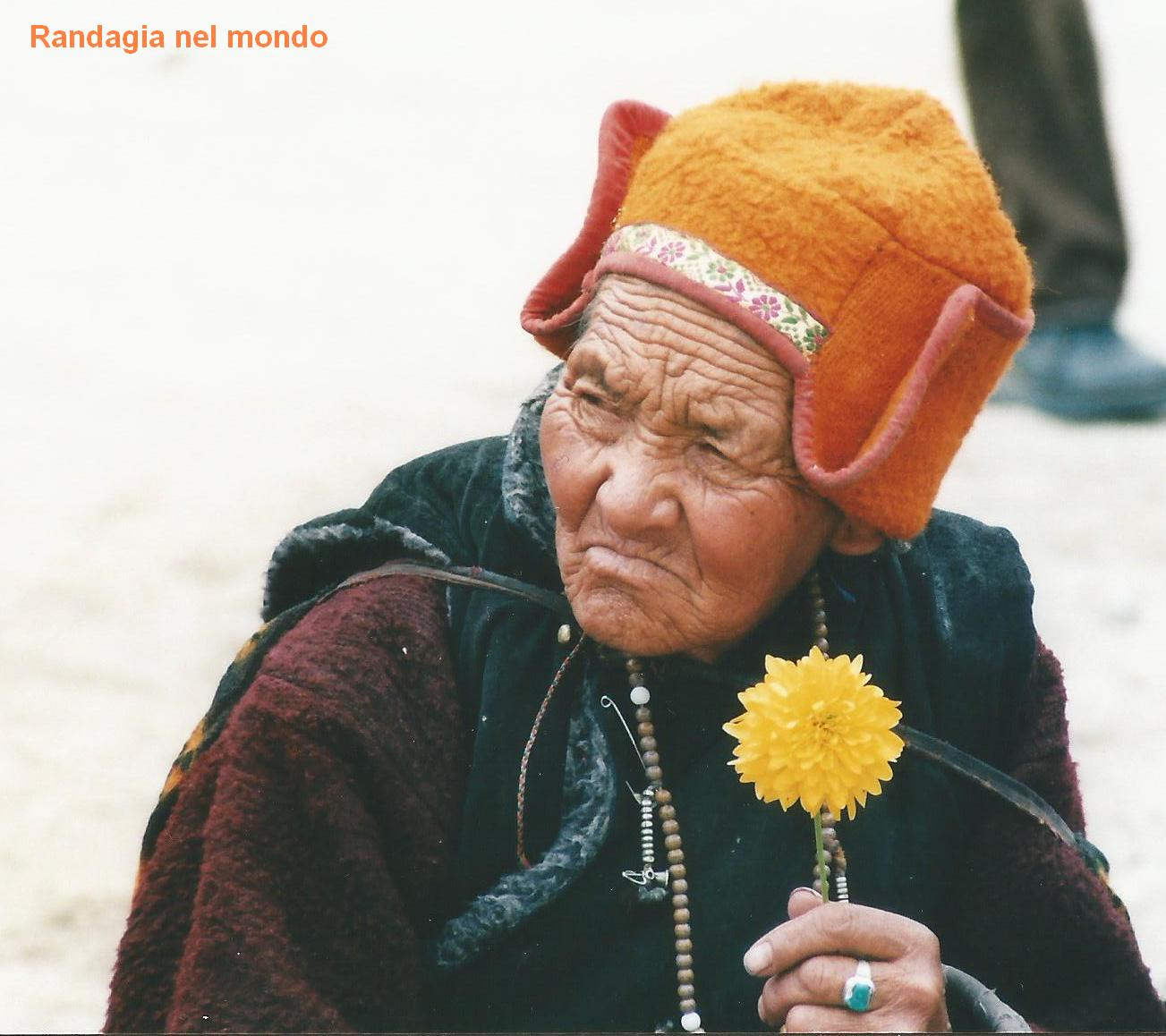 nubra old lady