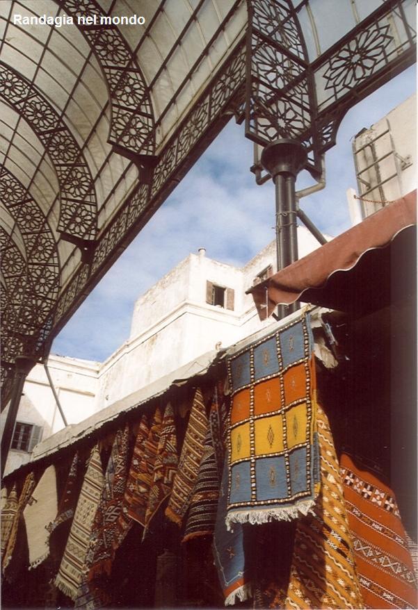 rabat, bazaar