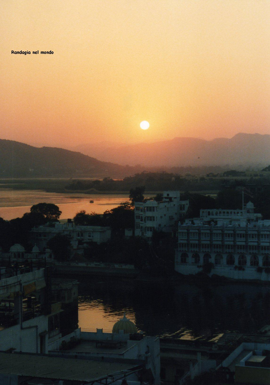 udaipur, sunset
