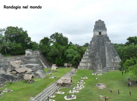 Flores e Tikal
